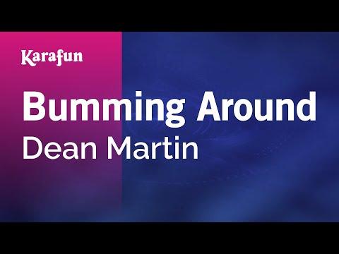 Karaoke Bumming Around - Dean Martin *
