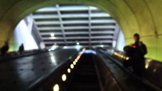 Happy Escalator Monday! LONG Escalator @ Rosslyn Metro Station Washington DC