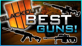 My Best Guns in Blackout Battle Royale!