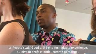 L'expérience de Joseph, Yéli et Franck-Michel au People'sLab4Good
