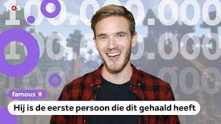 PewDiePie heeft 100 miljoen abonnees