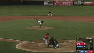Tate records 10th strikeout for Trenton