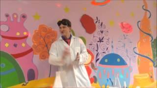 День рождение Полины. Химическое шоу.