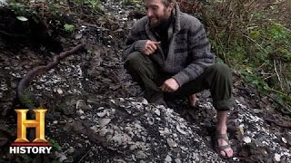 Alone: Lucas Finds a Shell Midden (S1, E1) | History