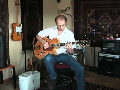 What A Wonderful World - Louie Armstrong Guitar Chord Solo Cover - Jim Wright