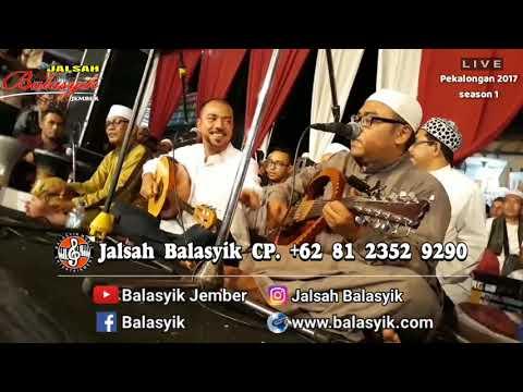 JALSAH BALASYIK. Bersama Fahad Munif live Kanzus Sholawat Hb. Lutfhi Bin Yahya Pekalongan