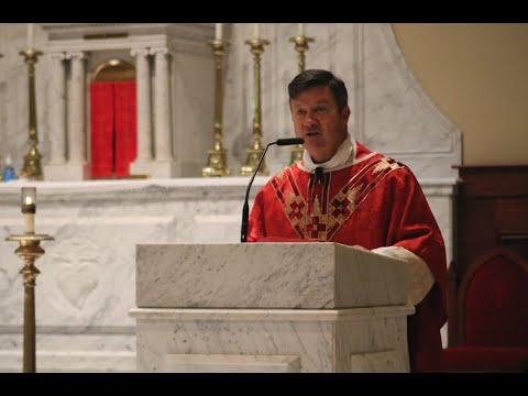 Father Hathaway's homily to the Basilica School of Saint Mary's teachers to start the 2020-2021 year