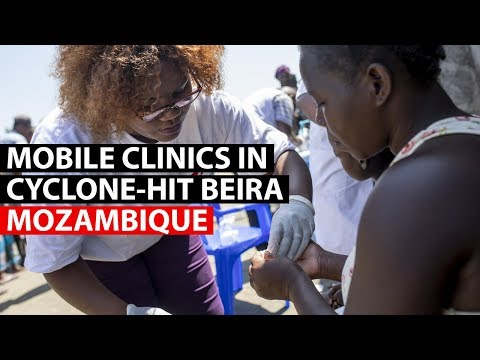CYCLONE IDAI | Mobile clinics in cyclone-hit Beira, Mozambique
