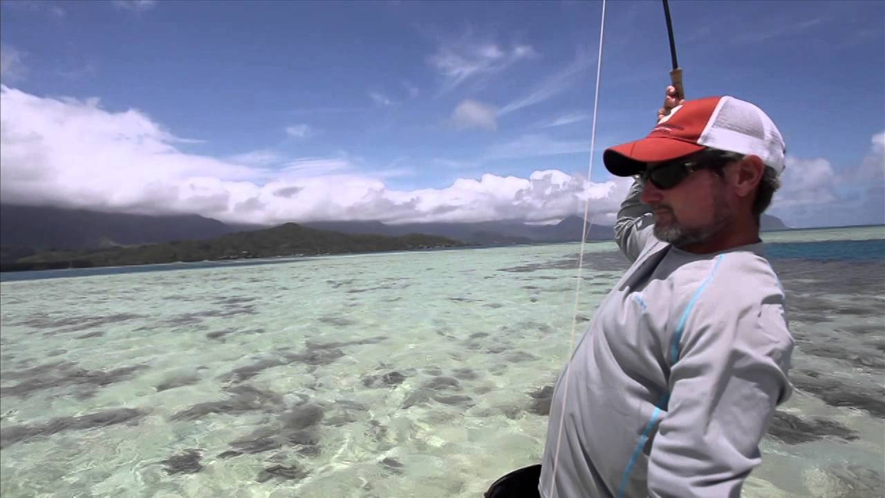 Hawaii on the fly youtube for Fishing charters oahu