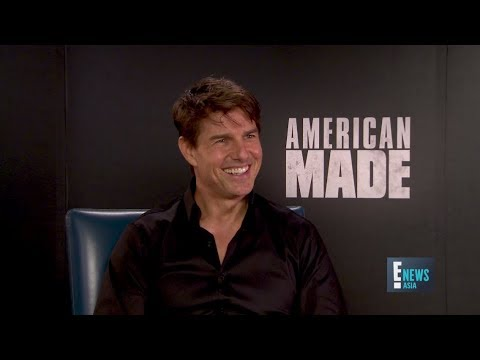 American Made with Tom Cruise - Yvette King | E! News Asia | E!