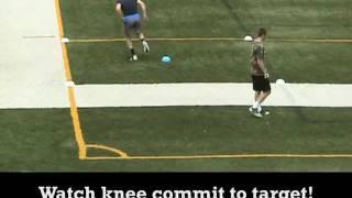 Wide Receiver Cone Drills 2011