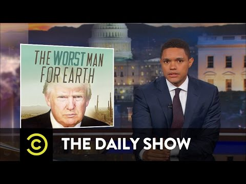 How to Make Trump Care About Global Warming: The Daily Show