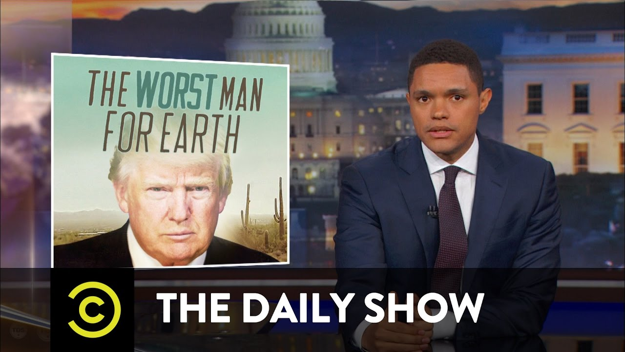 How to Make Trump Care About Global Warming: The Daily Show – YouTube