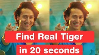 Find Real Tiger Shroff In 20 Seconds - Baaghi 2 Challenge