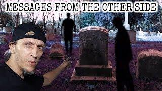SPIRITS SPEAK TO US IN HISTORIC CEMETERY !