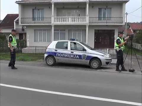 Provera brzine kretanja i korisćenja sigurnosnih pojaseva u saobraćaju