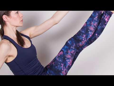 Como Hacer Ejercicios de Pilates Enfocado al Gluteo- HogarTv por Juan Gonzalo Angel