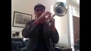 Dicas p/ ajudar nas notas agudas no trompete,Gê Ribeiro