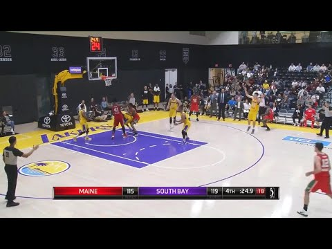 Ivica Zubac (17 points) Highlights vs. Maine Red Claws