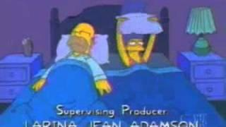 Homer snoring