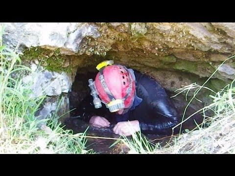 Looking for Stone Church Cave - Video on Caves at the edge of the Canadian Shield