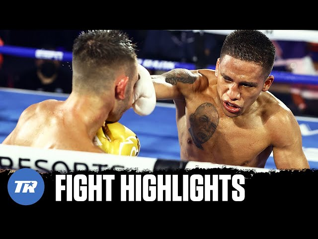 And New! Joshua Franco knocks down, dethrones Andrew Moloney to win Championship | FIGHT HIGHLIGHTS