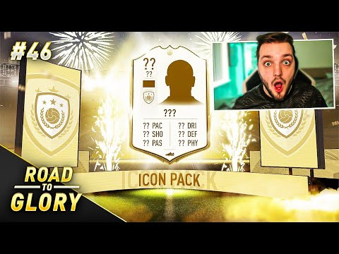 GUARANTEED ICON IN A PACK ON THE ROAD TO GLORY!! FIFA 20 ULTIMATE TEAM #46