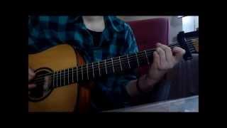 Angus and Julia Stone - Big Jet Plane, Guitar Cover