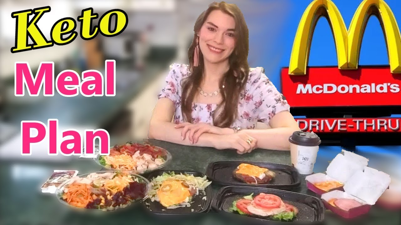 <div>KETO: McDonald's Meal Plan for Weight Loss! (I've Got a Complicated Order)</div>