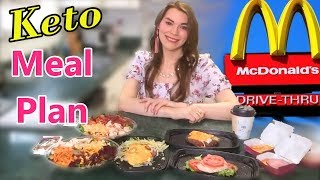 KETO: McDonald's Meal Plan for Weight Loss! (I've Got a Complicated Order)
