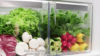 Réfrigérateur CustomFlex d'Electrolux - Les bénéfices