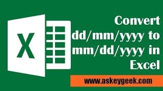 (Formül)Excel mm/dd/yyyy/AA/yyyy dönüştürmek