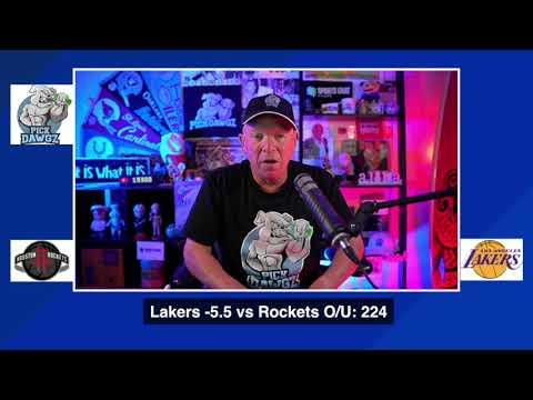 Los Angeles Lakers vs Houston Rockets 9/6/20 Free NBA Pick and Prediction NBA Betting Tips