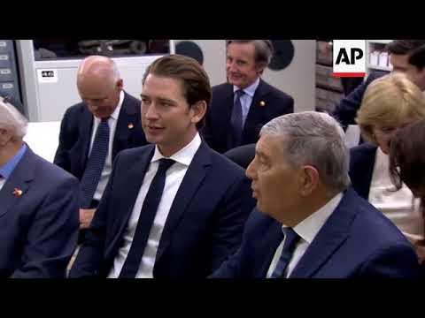 Austrian chancellor visits Yad Vashem