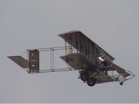 2013 Vectren Dayton Airshow - 1911 Wright B.  Military Flyer Replica
