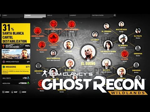 "Ghost Recon Wildlands | Taking Down Head of SECURITY BOSS ""EL MURO"" & Searching For Weapons 
