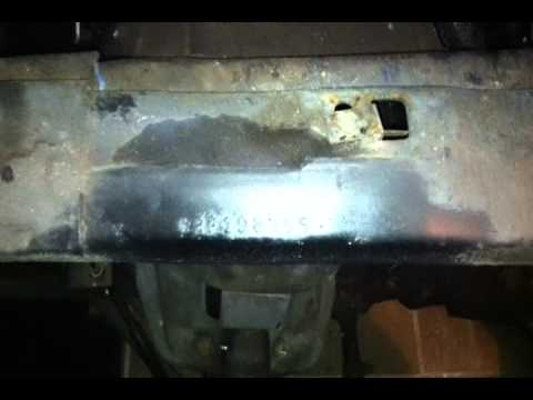 How to locate the VIN number on a 1971 1972 1973 Ford Mustang