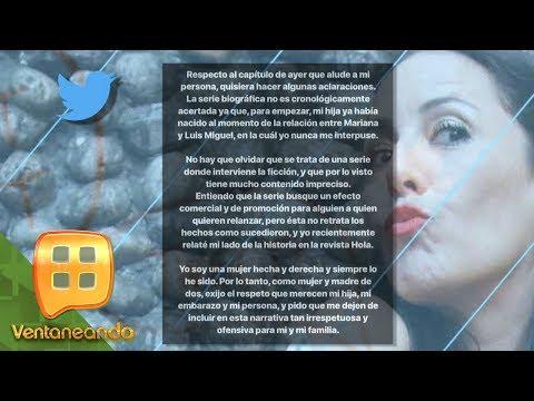 Stephanie Salas ¿enojada por la serie de Luis Miguel? | Ventaneando