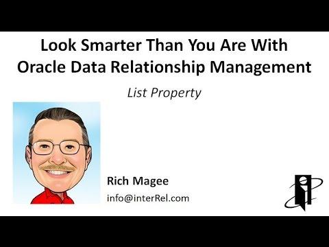 DRM List Property
