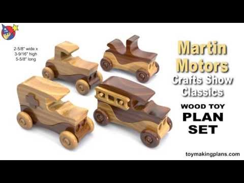 wood-toy-plans---martin-motors-crafts-show-classic-cars