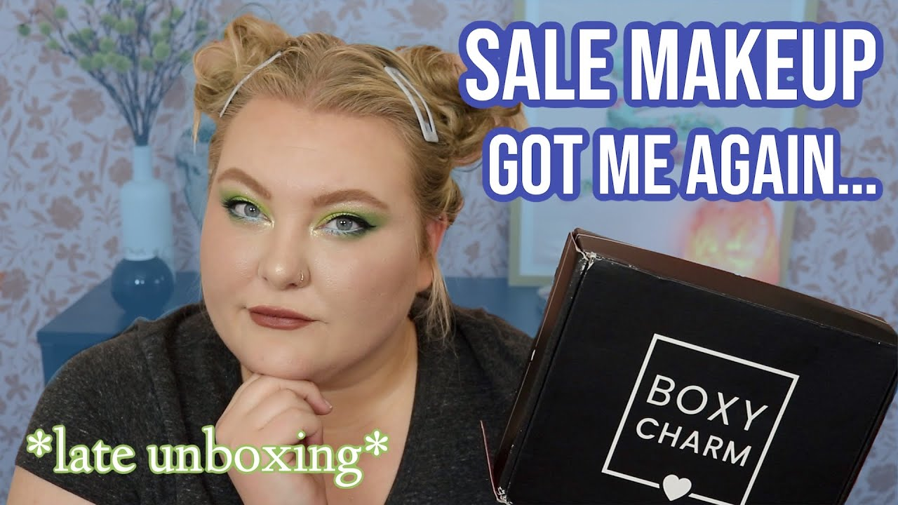 Some Things Should Stay On the Wishlist... A VERY late Boxycharm Unboxing + Sale Makeup Pickups!