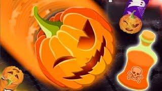 WORMATE IO - ОБНОВЛЕНИЕ НОВЫЕ СКИНЫ Halloween Игра клон SLITHER IO И  WORMAX 30