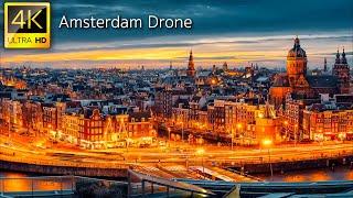 Amsterdam in 4K UHD Drone Video