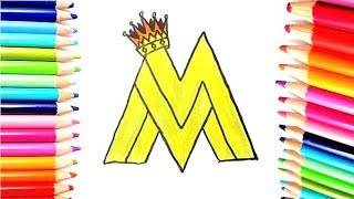 MALUMA -  Dibujando Logo de Maluma