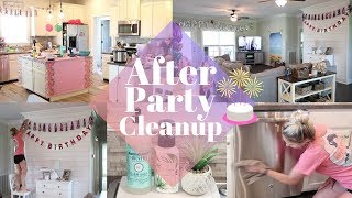 ULTIMATE CLEAN WITH ME | AFTER PARTY CLEAN UP | CLEANING MOTVATION