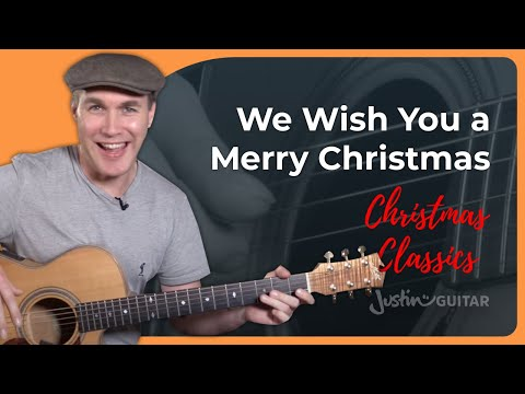We Wish You A Merry Christmas - Guitar Chords For Beginners - Guitar Lesson [ST-112]