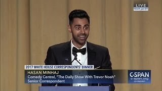 Hasan Minhaj COMPLETE REMARKS at 2017 White House Correspondents' Dinner (C-SPAN)