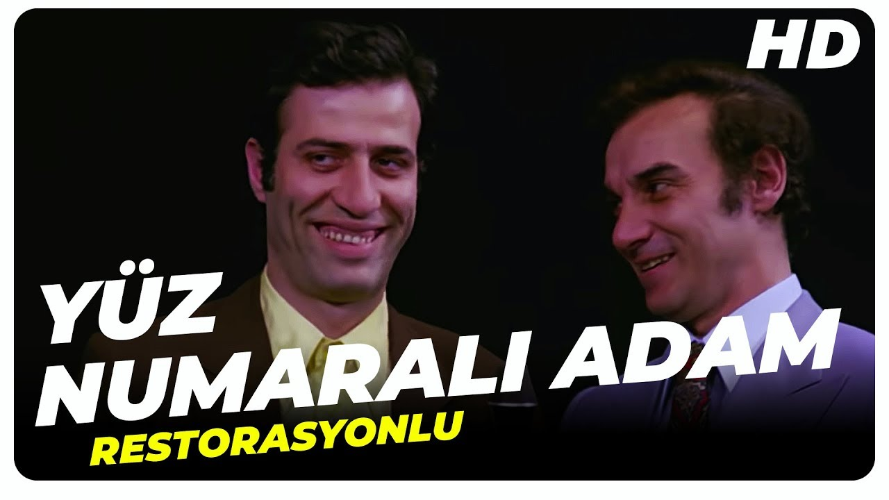 Yüz Numaralı Adam | Kemal Sunal  Eski Türk Filmi Tek Parça (Restorasyonlu)