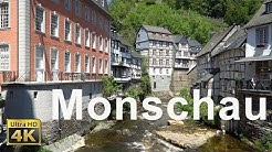 Monschau im Nationapark Eifel in 4K