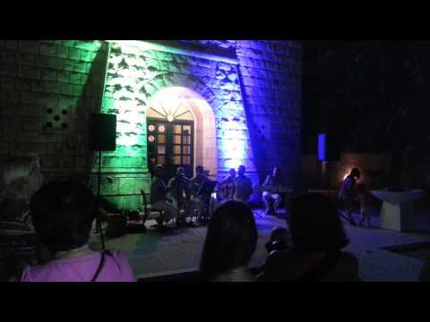 ХОРВАТИЯ БЛОГ - Брела - Рыбный вечер / CROATIA BLOG - Brela - Fishing party - Klapa Berulia